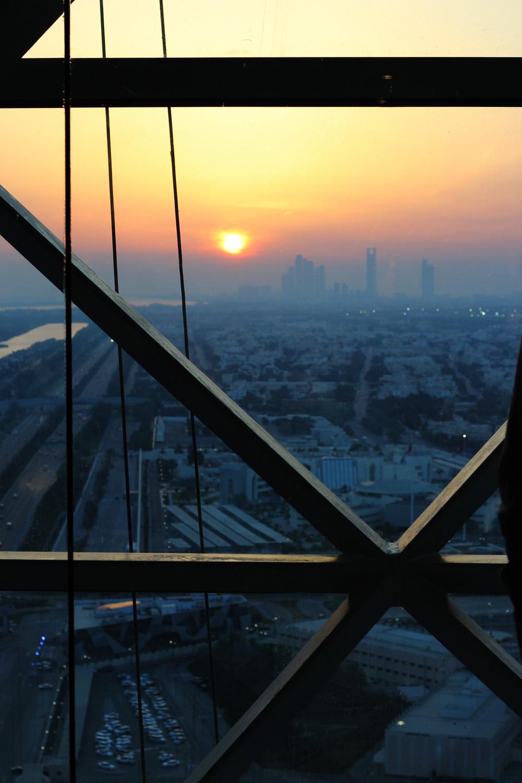 fatimayarie-abudhabi-sunset-skyline-hyatt-capital-gate-img_4052