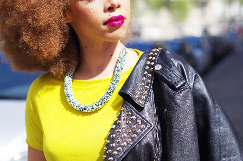 fatimayarie-afrohair-redcurls-parisblogger-studded-leatherjacket-imgp9000