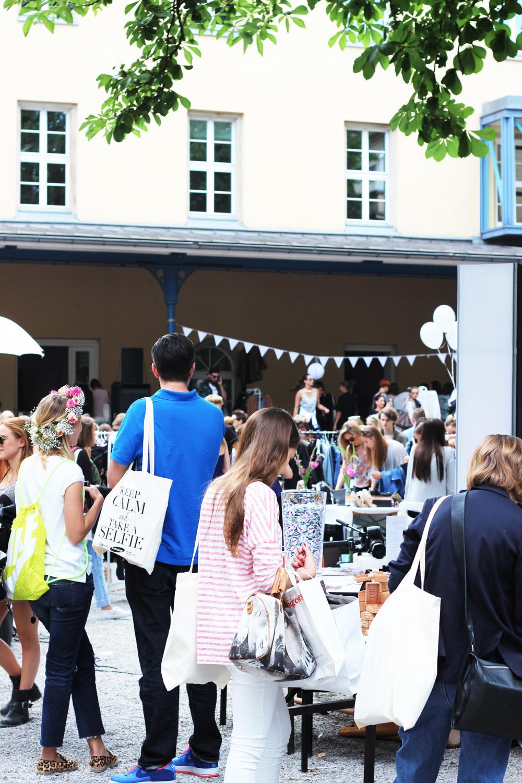 Blumenmädchen! Blogger Bazaar in München