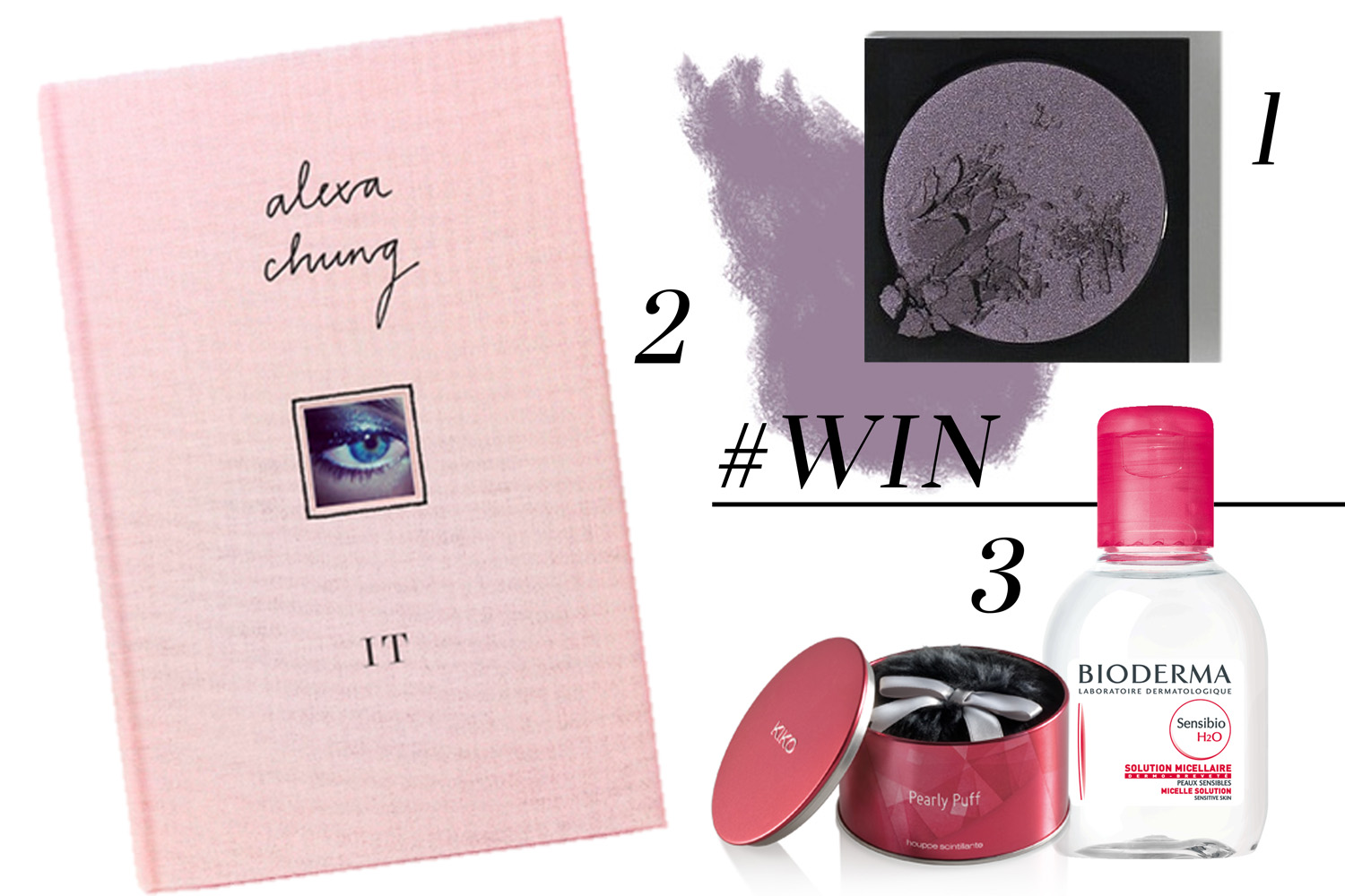 GIVEAWAY | Bobbi Brown, Bioderma, Alexa Chung's 'It'