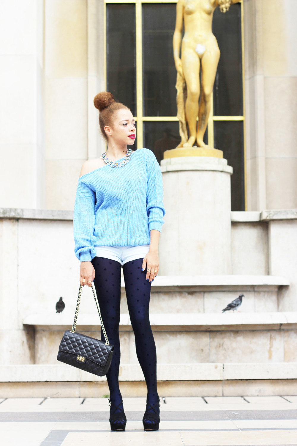 fatimayarie-lightblue-sweater-tights-bluedots-chanel-paris-heels-img_0781