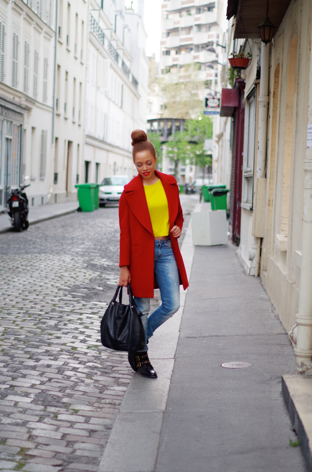 fatimayarie-paris-redcoat-coccinelle-jeans-yellowtop-imgp9997