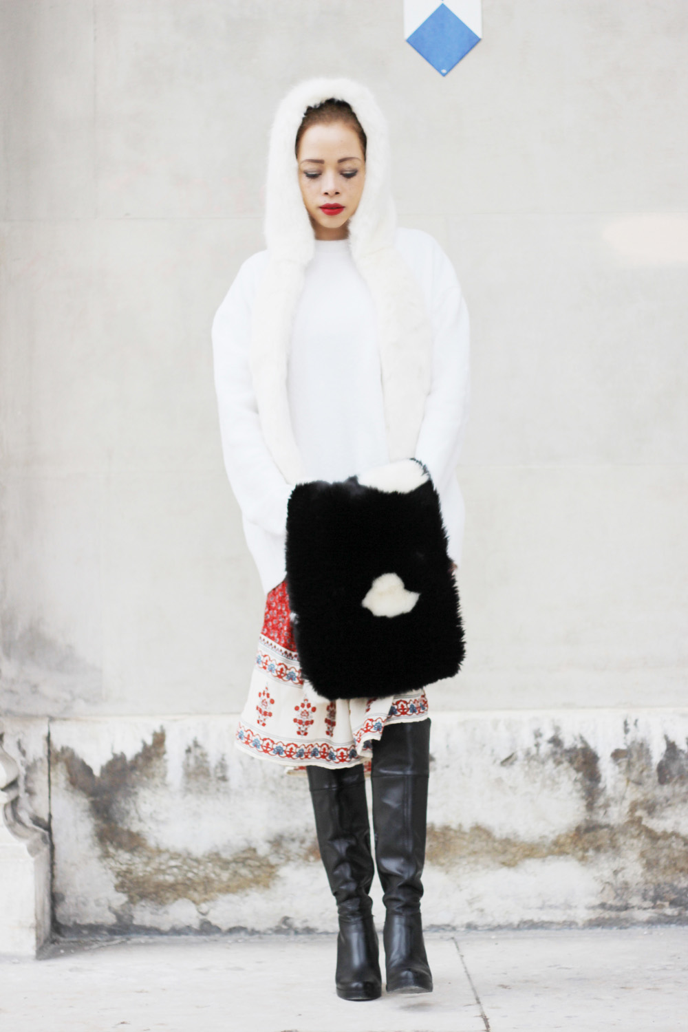 fatimayarie-white-fauxfur-cap-sweater-reddress-leatherboots-img_6945