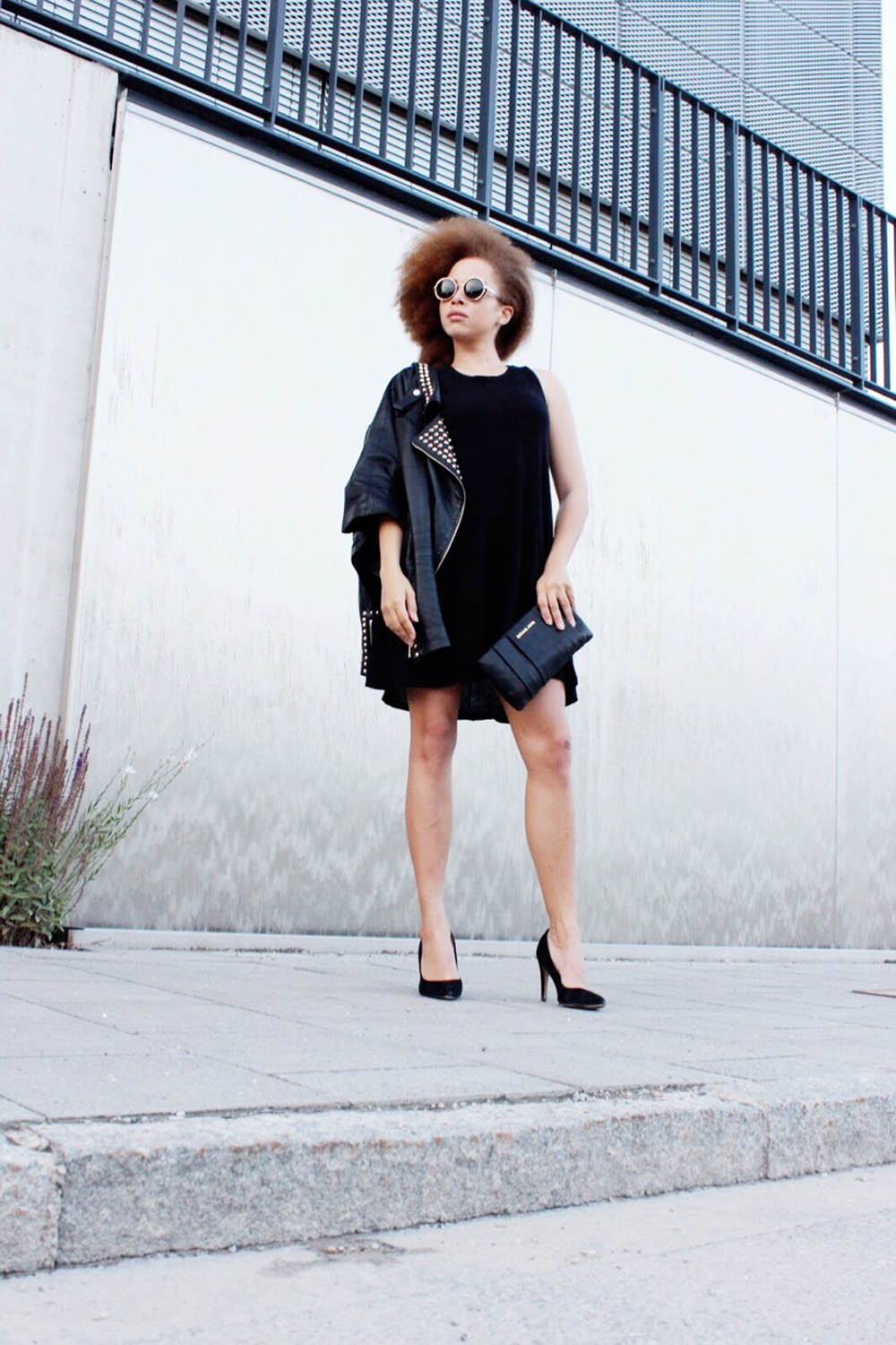 fatimayarie-blackdress-leatherjacket-heels-sunglasses-img_5029