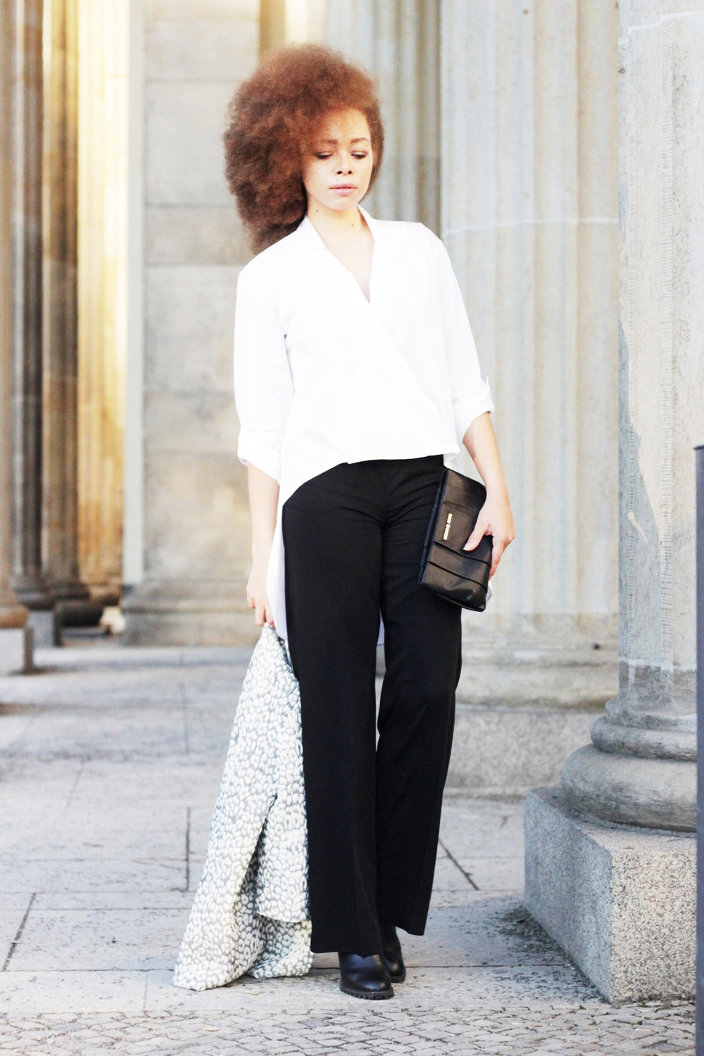 fatimayarie-afro-black-marlenepants-whiteblouse-clutch-img_1767