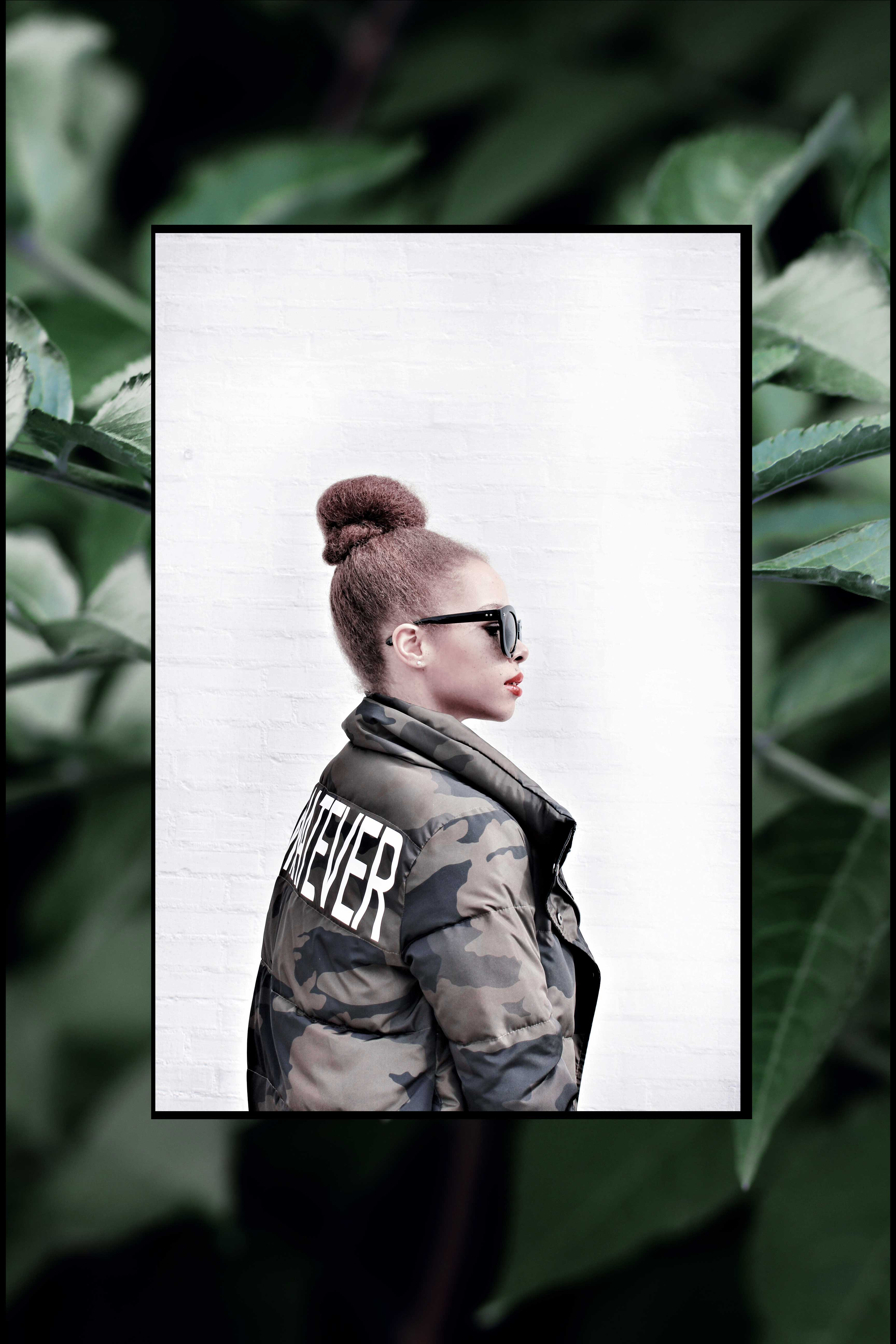 LOOK | Whatever! Camouflage Bomber Jacket Or Why We Shouldn't (Always) Care